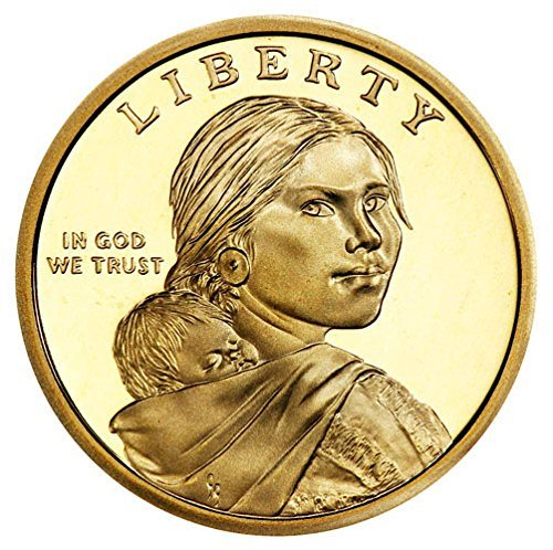 - 2009 S Sacagawea Native American Gem Proof US Coin Gem Modern Dollar $1 DCAM US Mint
