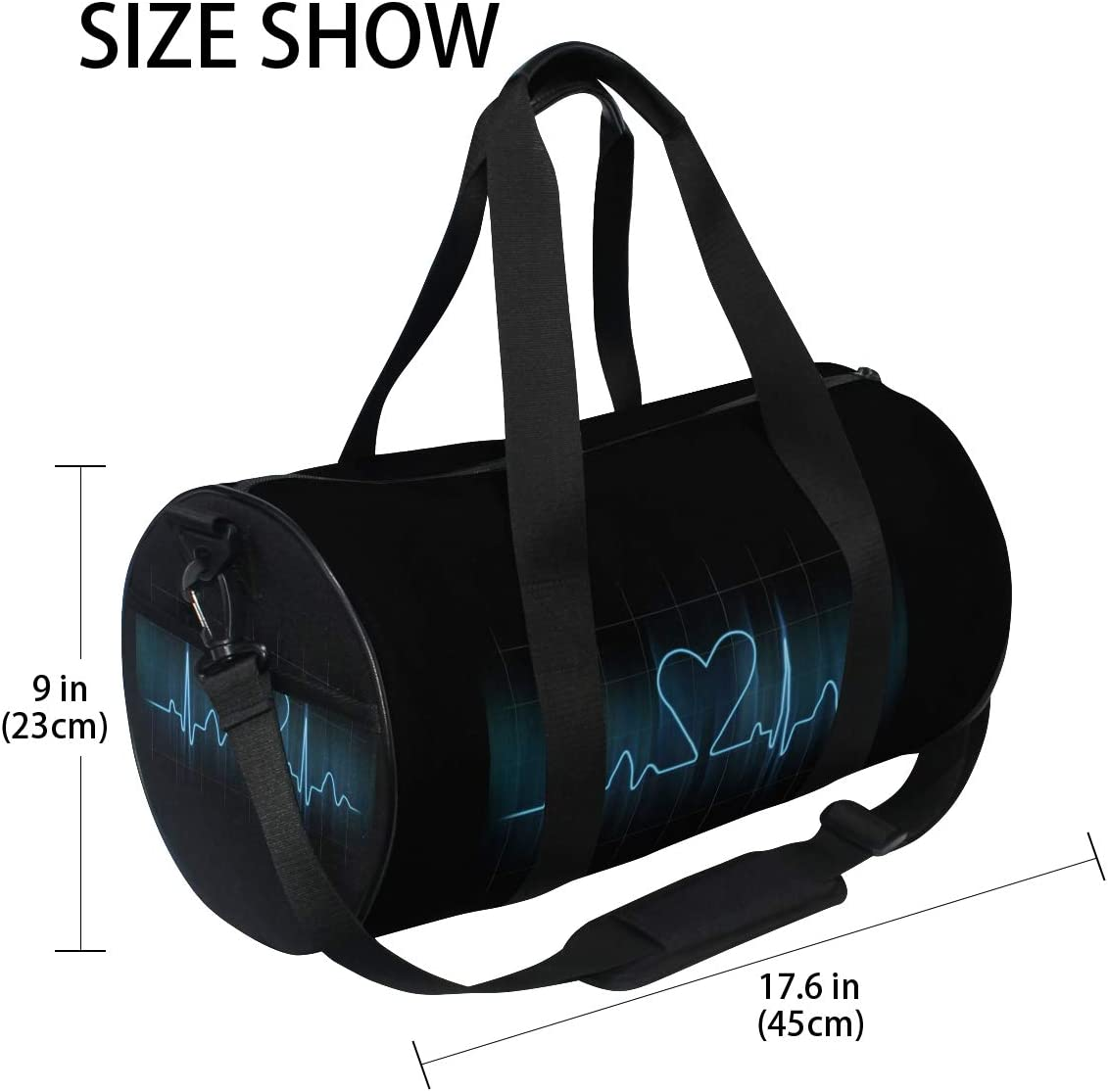 Duffel Bag Love is Life Women Garment Gym Tote Bag Best Sports Bag for Boys