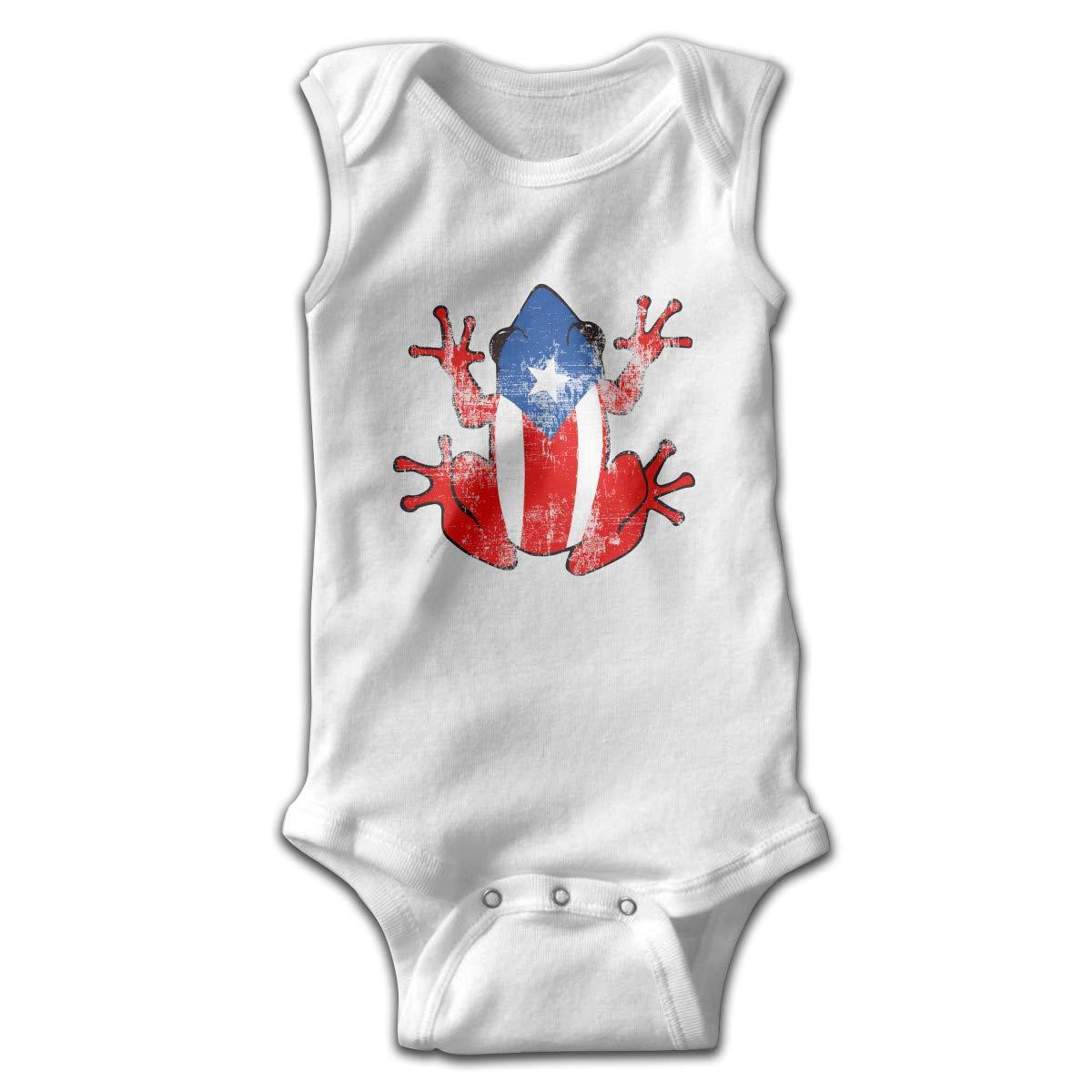 Dunpaiaa Frog Smalls Baby Onesie,Infant Bodysuit Black