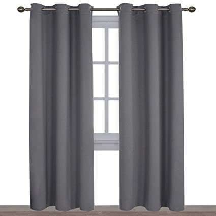 Nicetown Sound Absorbing Fabric Curtains