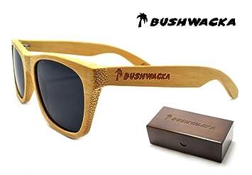 Nuevo Bushwacka Venecia-Playa Hecho a mano Polarizado Gafas de sol de madera
