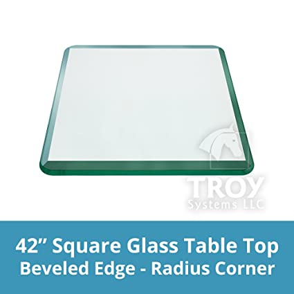 Amazon Com Troysys 42 Inch Square 1 2 Inch Thick Bevel Polished