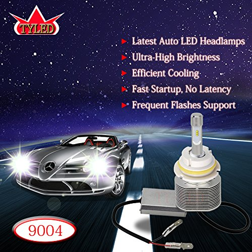 TYLED 30W 9004 4000LM Automobile LED Headlight Conversion...