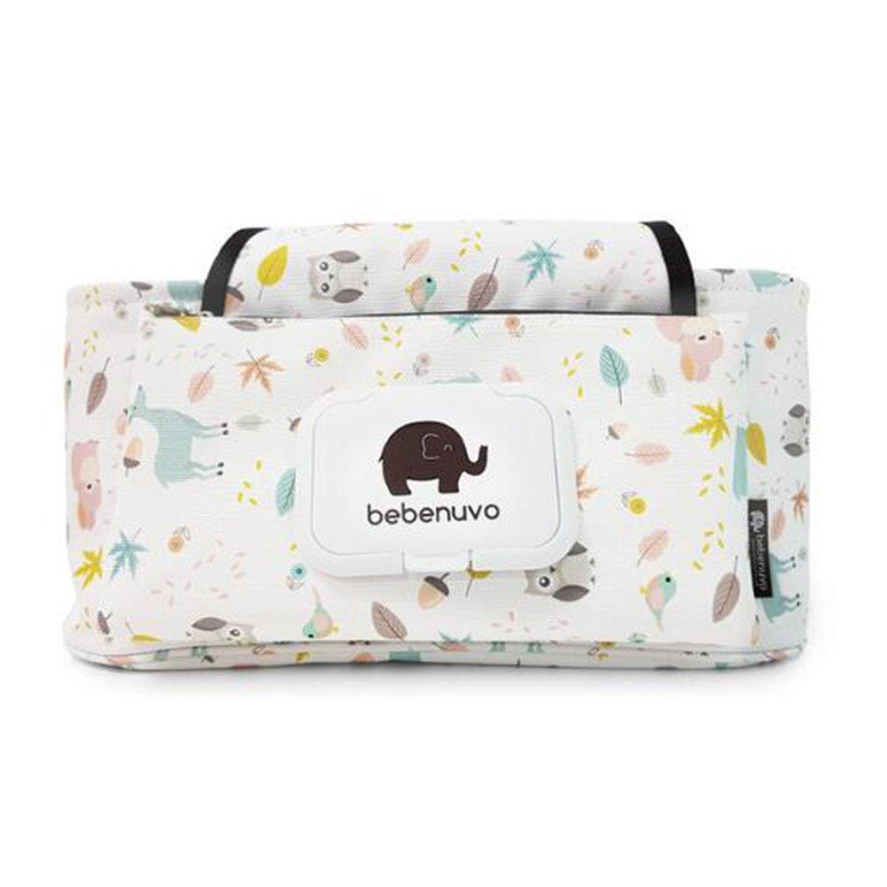 bolsa de almacenamiento para cochecito de beb/é Bolsa de almacenamiento para cochecito de beb/é lona de dibujos animados cochecito bolsa organizadora cochecito de beb/é UCTOP Store