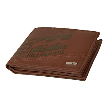 Billabong Junction cartera monedero para hombre Marrón Braun ...