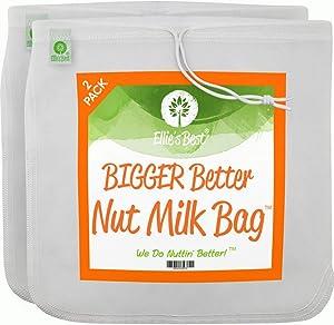Pro Quality Nut Milk Bag - 2 XL12