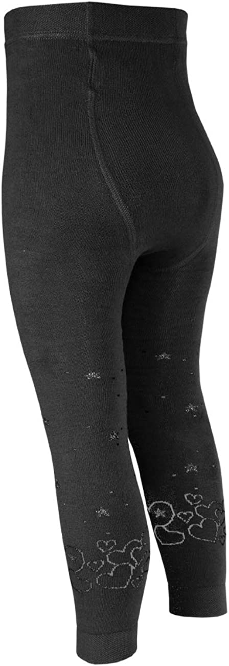 maximo Girls Glitzergarn Herzen Vollfrottee Tights