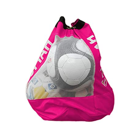 f04c988ff3 SUFIAH ® 4 6 8 12 BALLS Heavy Duty Football Bag Soccer Ball Holder Shoulder  Strap Training Bags  Amazon.co.uk  Sports   Outdoors