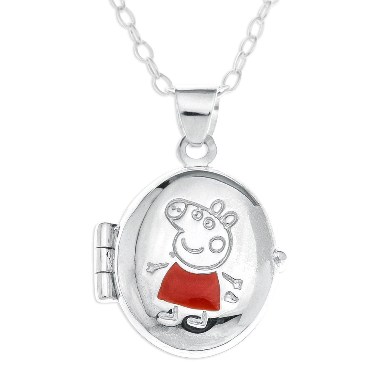Collier - SP723 - Collar de peppa pig niño de plata de ley Bijoux pour tous SIPE311-16INT