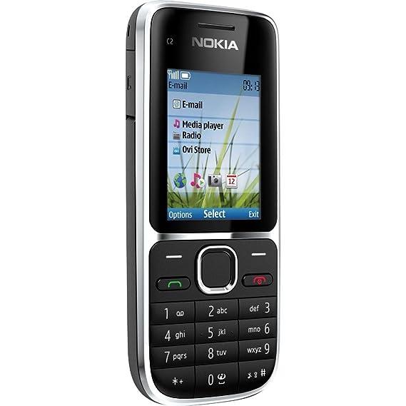 amazon com nokia c2 01 black unlocked gsm quadband 3g bar cell rh amazon com Duel Sim Nokia C2-01 Duel Sim Nokia C2-01