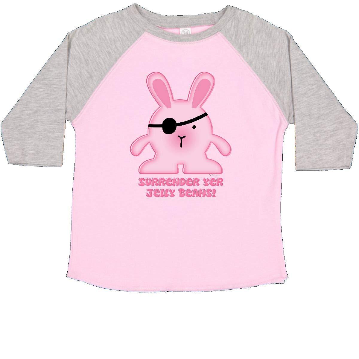 inktastic Pirate Bunny Toddler T-Shirt