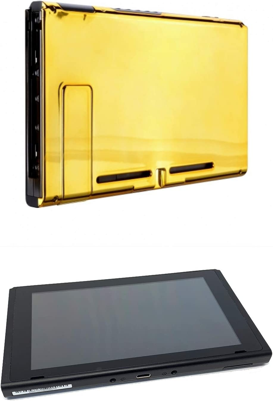 Chrome Gold Custom Console for Nintendo Switch Tablet Only