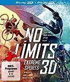 No Limits: Extreme Sports 3D (3D Blu-ray) 3-Blu-ray-Box: Surfing - Wake Boarding - JetSki - Kajak - Wingsuits - BMX - Mountain Bike