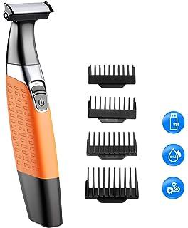 Afeitadora Barba, Cocoda Mojado y Seco Afeitadora Electrica Corporal Hombre y Mujer, Inalámbrico USB