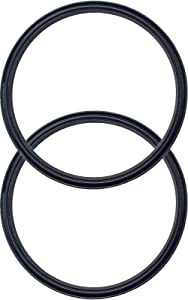 2 Pack of Replacement Rubber Lid Ring, Gaskt Seals for 30 oz Top, Lid for Insulated Stainless Steel Tumblers, Cups Vacuum Effect, fit for Brands - Yeti, Ozark Trail, Beast, Black by C&Berg MODEL 2019