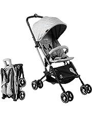 Cimiva Baby Convenience Stroller Lightweight Aluminum Frame (gray)
