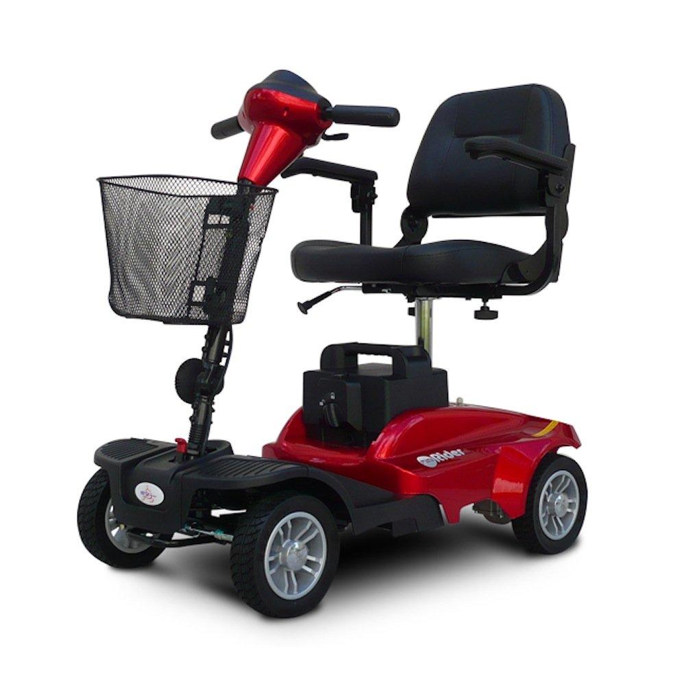 EV Rider MiniRider MiniRider 4 Wheel Travel Scooter (Red)