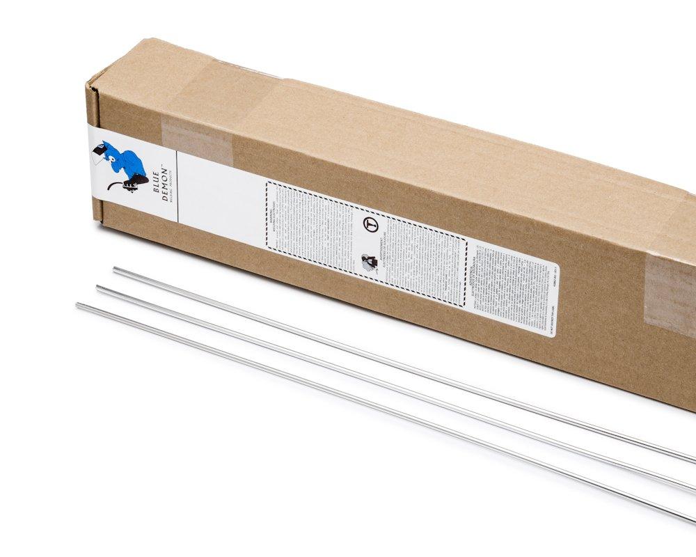 Blue Demon ER5356 X 3/32'' X 36'' X 10LB Box high strength aluminum TIG welding rod