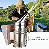 CYL Manual Bee Smoker Stainless Steel Sm...