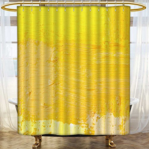 (Mikihome Shower Curtain Customized Wallpaper Texture Background of Fragment of Oil Bathroom Set with Hooks W72 x H78 inch)