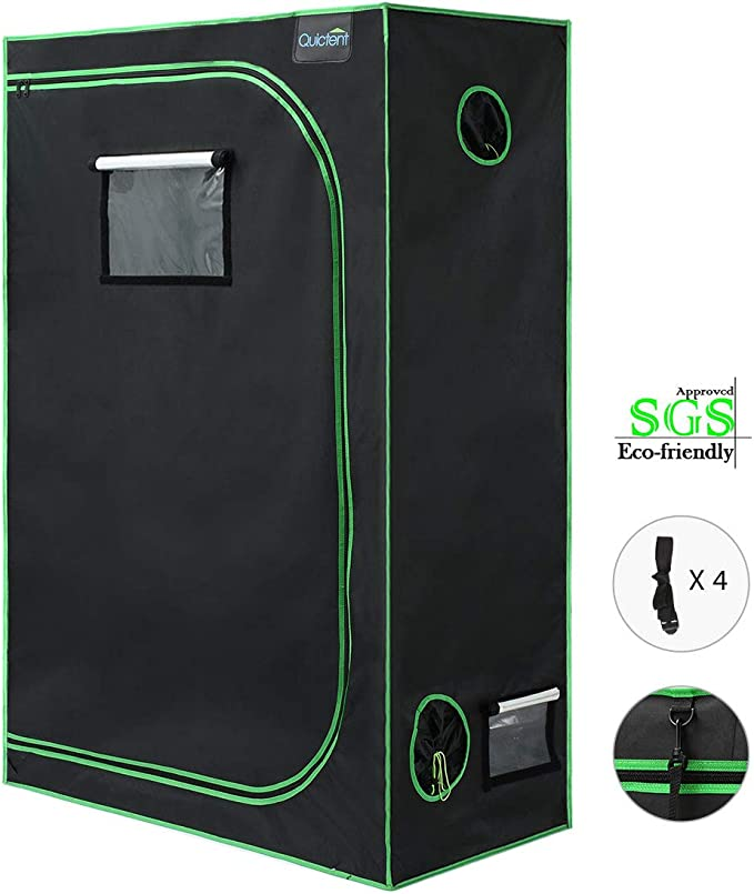 Quictent SGS Certificated 2x4 Grow Tent - Best For Environmentally-Friendly