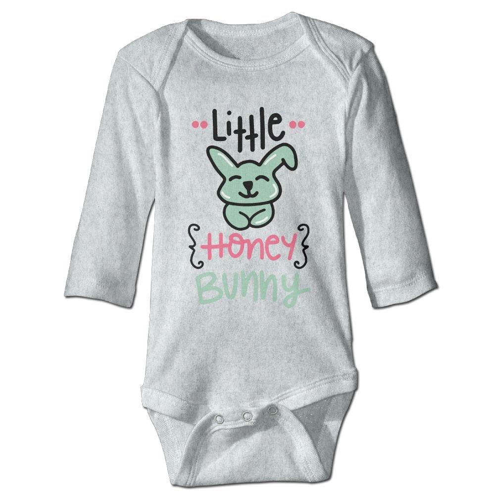 Midbeauty Little Honey Bunny Newborn Cotton Jumpsuit Romper Bodysuit Onesies Infant Boy Girl Clothes