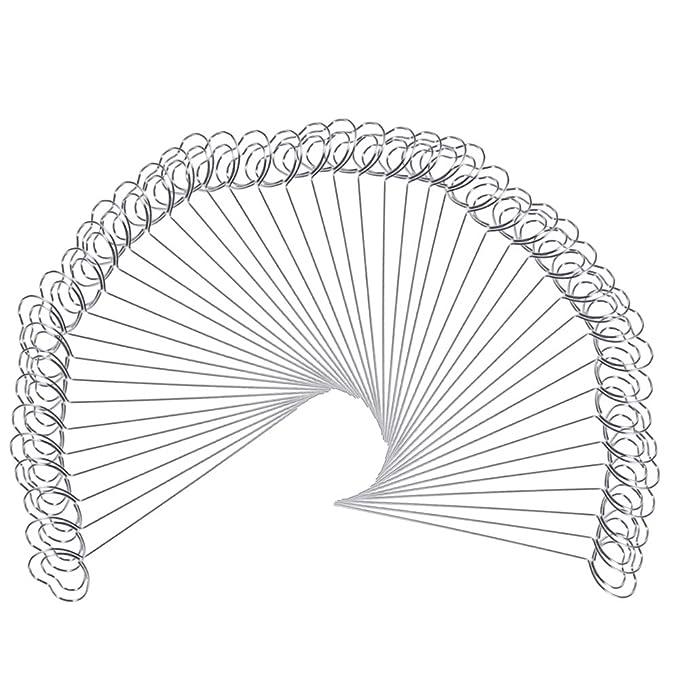 Amazon Com Mengcore 50pcs Diy Heart Ring Loop Star Shape Craft New