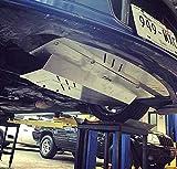SILVER TBW Aluminum Under Tray for Infiniti G35