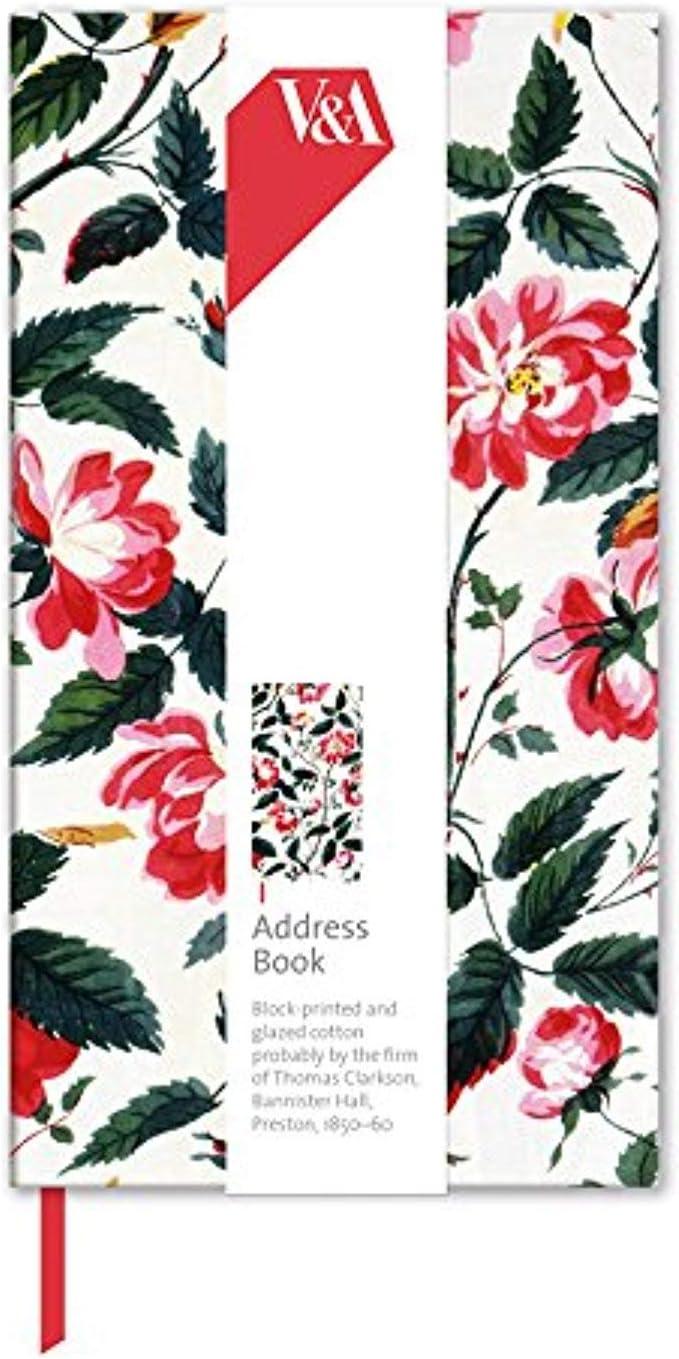 Furnishing Chintz Design Slimline Address Book