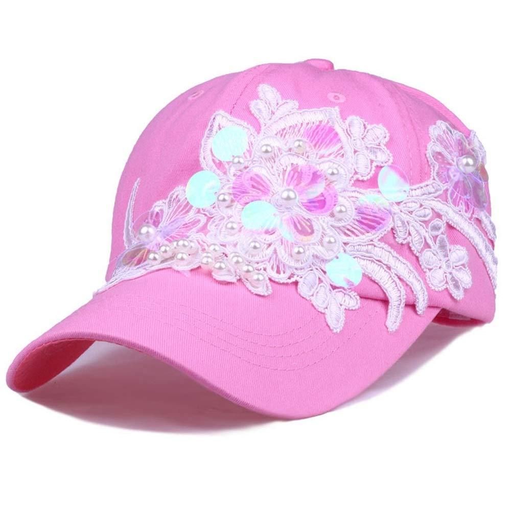 Santonliso Sombrero De La Mujer Moda Lentejuelas Flor Set Perla ...