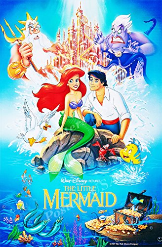 Poster USA - Disney Classics The Little Mermaid Poster GLOSS