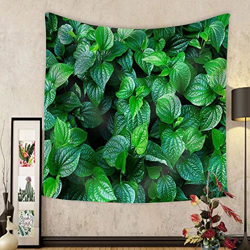 Niasjnfu Chen Custom tapestry Material. Thai Medicinal Plants.(Piper Sarmentosum Roxb.) - Fabric Wall Tapestry Home Decor by Niasjnfu Chen