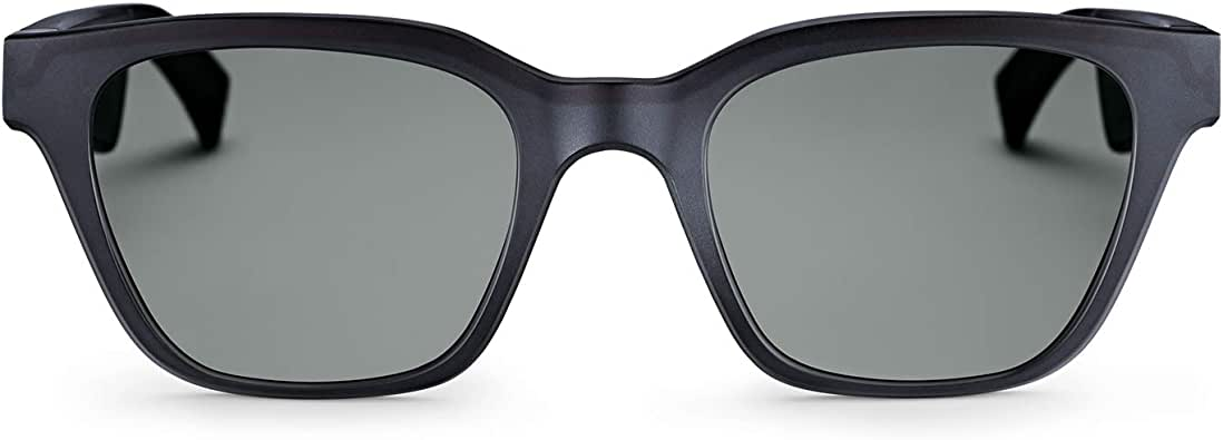 Bose Frames - Audio Sunglasses with Open Ear Headphones, Black, with Bluetooth Connectivity
