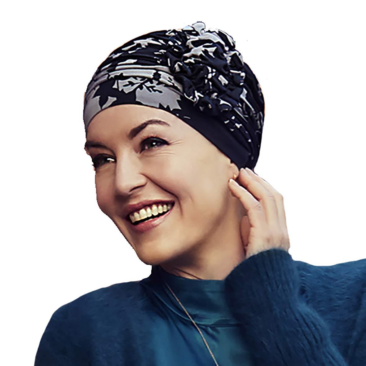 Christine headwear Turbante Lotus-Twotone Copricapo chemioterapia
