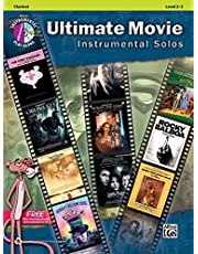 Ultimate Movie Instrumental Solos: Clarinet (Book & CD)