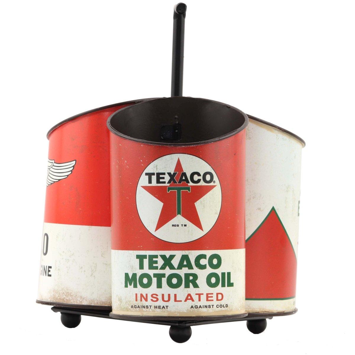 Texaco Oil Can Caddy