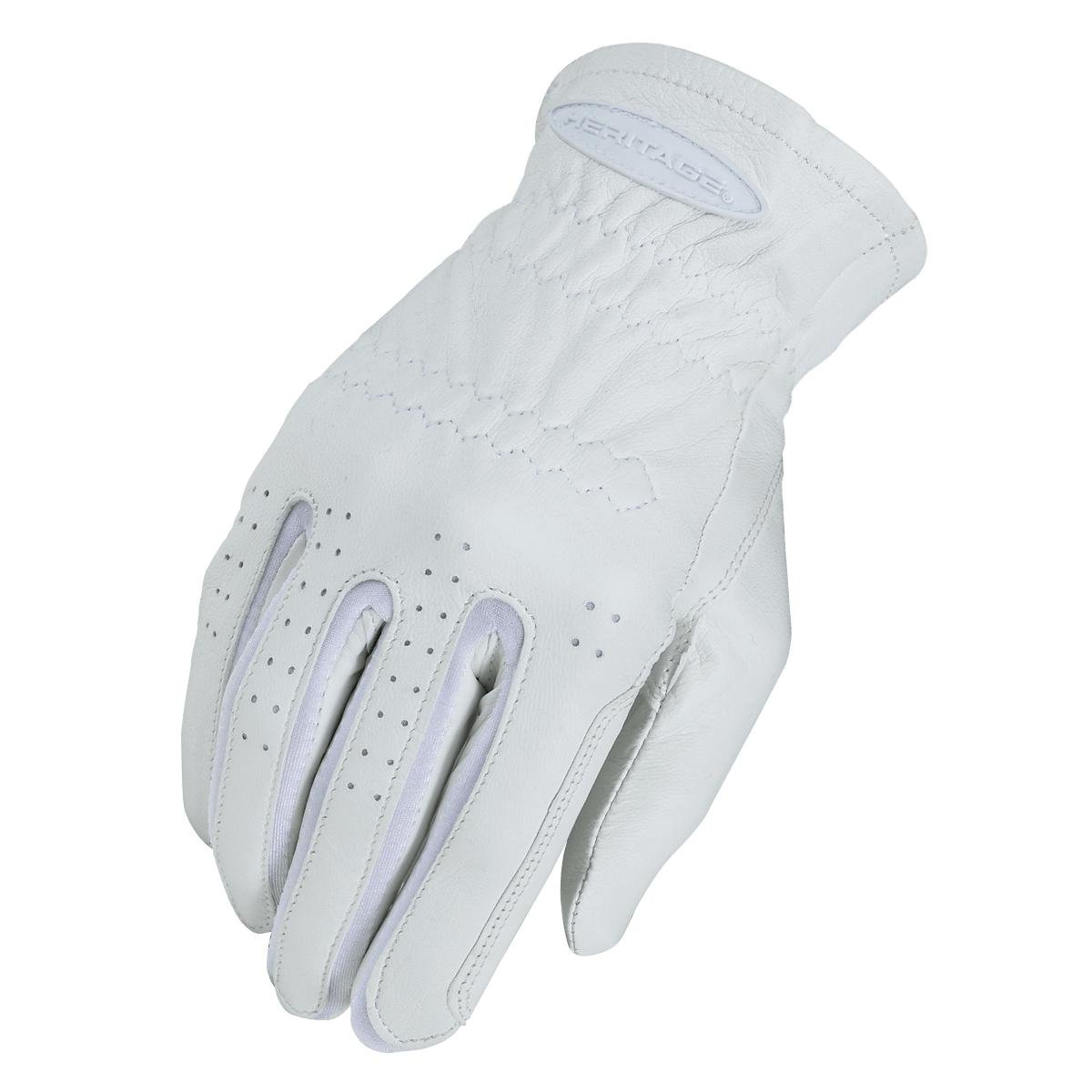Heritage Pro-Fit Show Gloves, Size 11, White