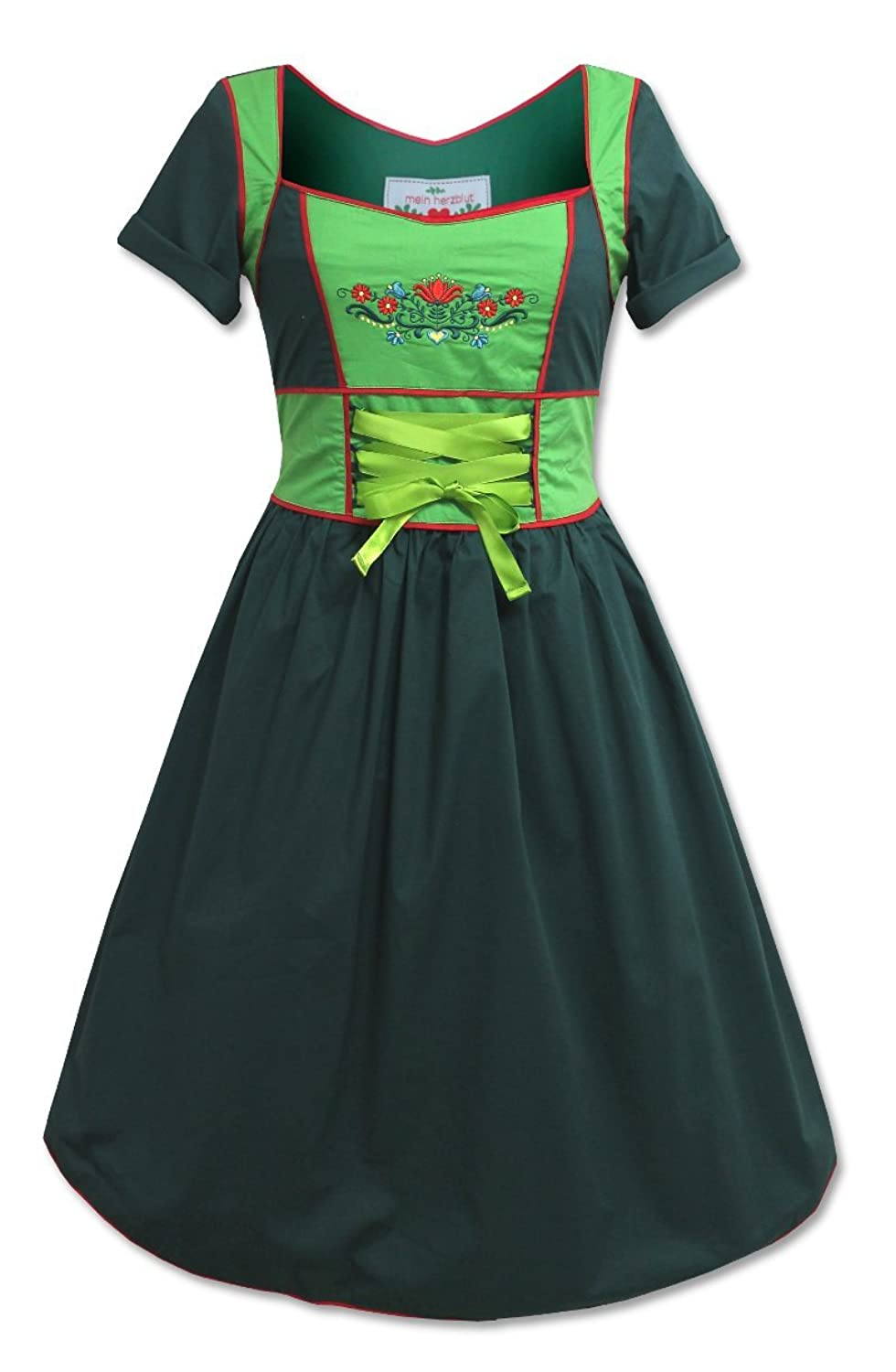 Wiesn Oktoberfest Karwendel Alpen Party Kleid Trachten