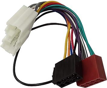 Aerzetix E7 Iso Konverter Adapter Kabel Radioadapter Radio Kabel Stecker Iso Kabel Verbindungskabel Mitsubishi Konform Auto