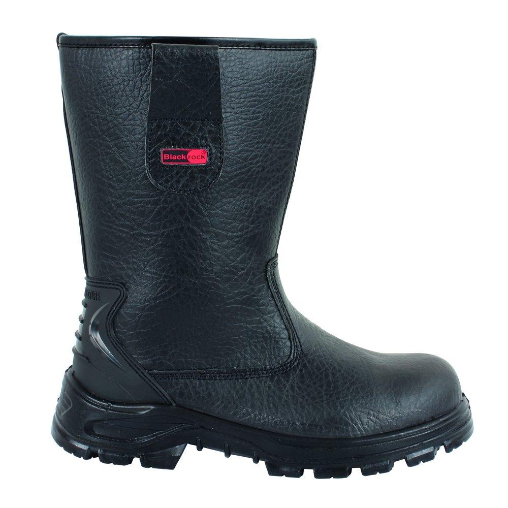S1-P SRC Black Blackrock SF01B Fur Lined Safety Rigger Boot