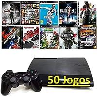 Playstation 3 / Ps3 + 50 Jogos Original !!!!