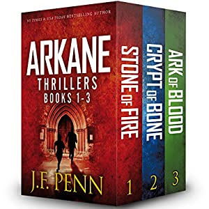 Arkane Thrillers, Books 1 - 3 Audiobook