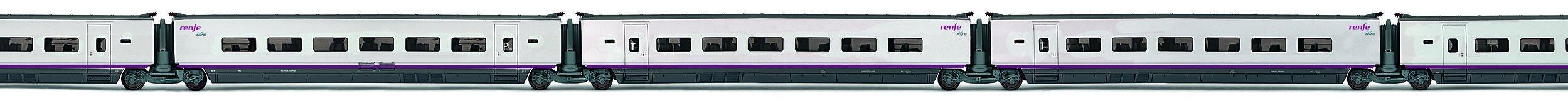 Electro Tren EL3521-Model Railways-Set 3Cars Extra Ave 100RENFE Operadora