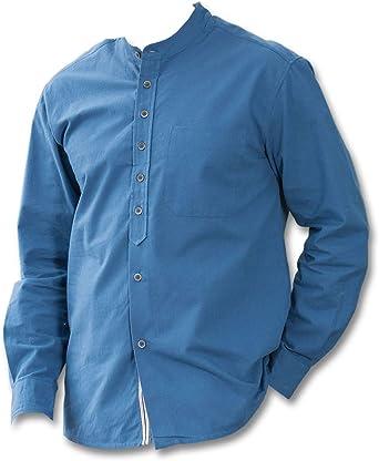 Lee Valley - Camisa casual - para hombre azul marino M ...
