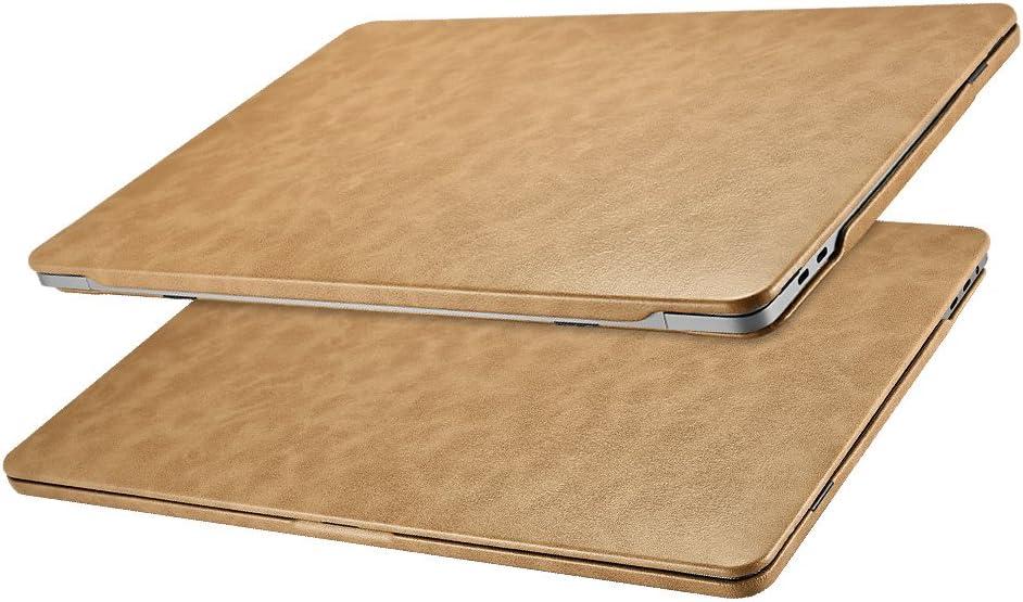 Funda MacBook Pro 15, Icarer Cuero Utra Delgado Ligero Protector Suave Cubierta de la Caja Shell para Macbook Pro 15 pulgadas con pantalla Retina Display Model: A1707/A1990 2016& 2017&2018 (Ma