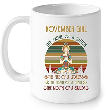 b53adb41 Amazon.com: November Girl The Soul Of A Witch The Fire Of A Lioness ...