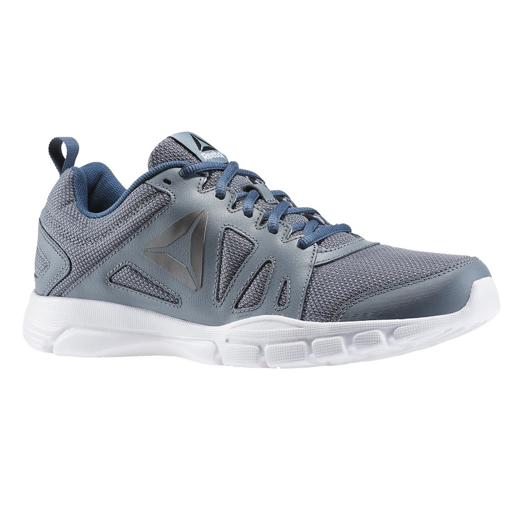 ed7bef3a108 Galleon - Reebok Men s Trainfusion Nine 2.0 Asteroid Dust Brave Blue White Pewter Black  Shoe