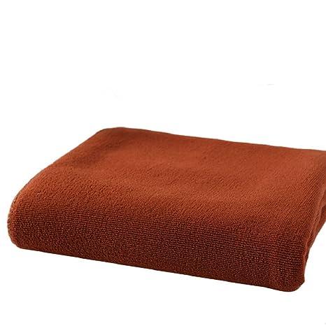 Culater® 70x140cm Secado de Microfibra Playa baño de Ducha Toalla Toalla Absorbente (Café)