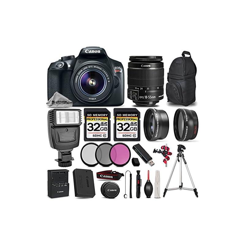 Canon EOS REBEL T6 DSLR Camera + Canon E