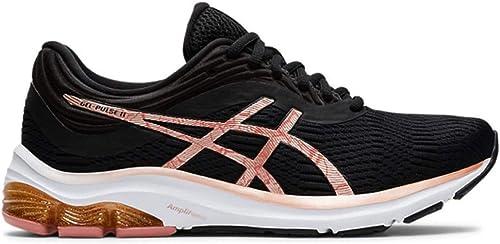 Gel-Pulse 11 Running Shoes - Black/Rose